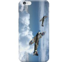Spitfires cloud hopping iPhone Case/Skin