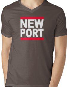 Newport Mens V-Neck T-Shirt