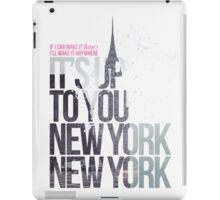 It's Up To You iPad Case/Skin