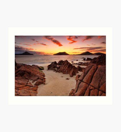 Shoal Beach Sunrise Art Print