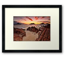 Shoal Beach Sunrise Framed Print