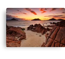 Shoal Beach Sunrise Canvas Print