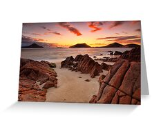 Shoal Beach Sunrise Greeting Card