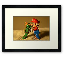 Fight! Framed Print