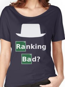 Ranking Bad? White Hat SEO - Breaking Bad Parody Women's Relaxed Fit T-Shirt