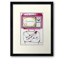 Be Calm Framed Print