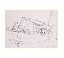 Hoi An III (Boat) Art Print