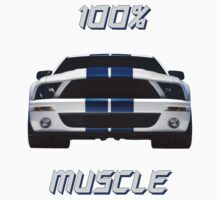 100% MUSCLE by BIG-DAVE