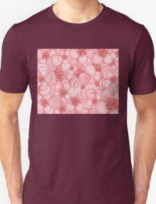 Pink Flower Cloud Unisex T-Shirt
