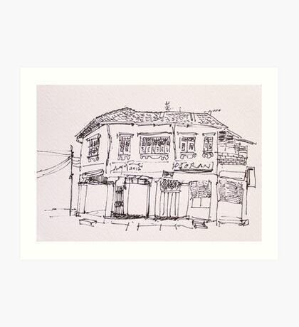 Old Building III Art Print