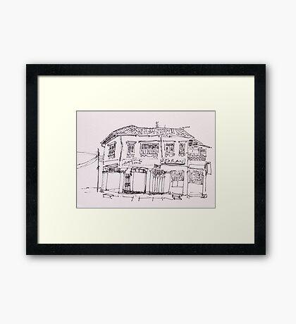 Old Building III Framed Print