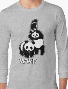 WWF (black and white ) Long Sleeve T-Shirt