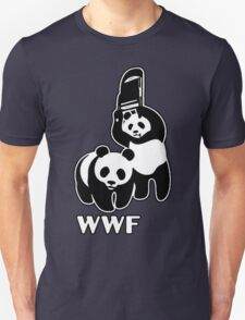 WWF (black and white ) Unisex T-Shirt