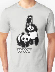 WWF (black and white ) Unisex T-Shirt