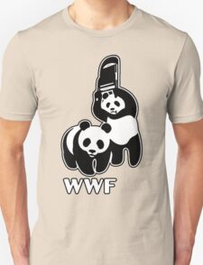 WWF (black and white ) T-Shirt