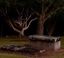 Old Cemetery by Rodney Wratten