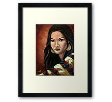The Southwest Blanket Framed Print