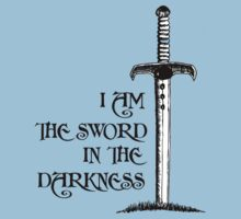 I Am the Sword in the Darkness Kids Clothes