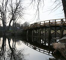 Old North Bridge Concord MA by Ren Provo