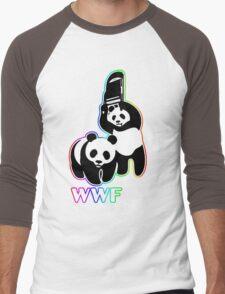 WWF [color ver.] Men's Baseball ¾ T-Shirt