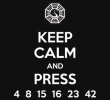 Keep Calm & Press... Kids Tee
