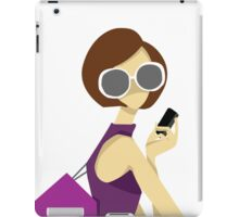 Girl in Sun Glasses iPad Case/Skin