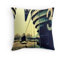 Number 3 in London by City Hall Throw Pillow