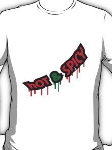 Hot And Spicy Graffiti T-Shirt