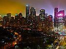 Central Park South Skyline by cammisacam