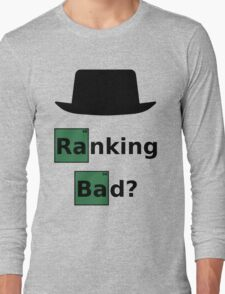 Ranking Bad? Black Hat SEO - Breaking Bad Parody Long Sleeve T-Shirt