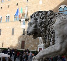 Lion Statue in Florence, Italy by will897