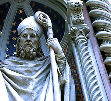 Wizard Statue in Florence, Italy by will897