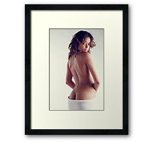 Introducting Chelsea Spencer Framed Print