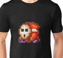 Shy Guy pixel Super Mario Unisex T-Shirt