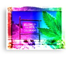 #Happy420  Now serving High Altitude Snacks Canvas Print