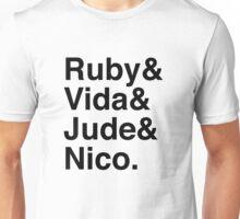Ruby & Vida & Jude & Nico. Unisex T-Shirt