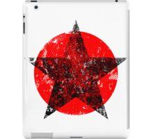 Circle and star iPad Case/Skin