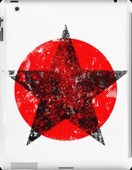 Circle and star by puppaluppa