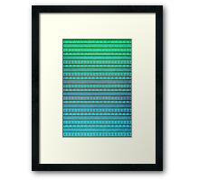 Aztec Summer Framed Print