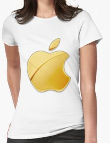Gold Apple Womens Fitted T-Shirt