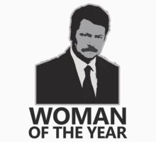 Ron Swanson Woman of the Year by damnbryony