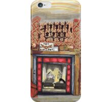 Sherlock's Fire Place iPhone Case/Skin