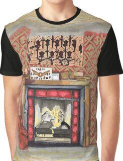 Sherlock's Fire Place Graphic T-Shirt