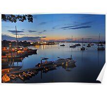 Dering Harbor Marina Poster