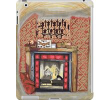 Sherlock's Fire Place iPad Case/Skin