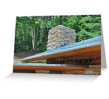 Kentuck Knob Roof Greeting Card