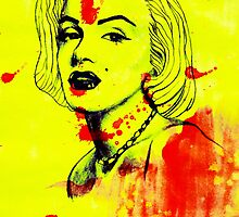 Marilyn Monroe by Keelin  Small