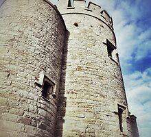 O'Briens Tower Close - Up by CHINOIMAGES