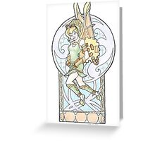 Steampunk Tinkerbell Greeting Card