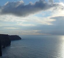 Cliffs of Moher Sunset by CHINOIMAGES